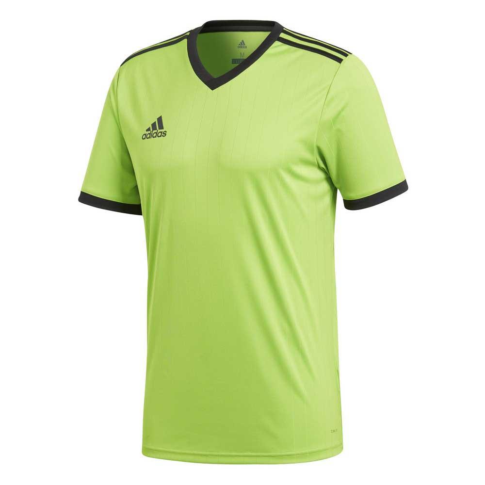 Adidas T-shirt Manche Courte Tabela 18 152 cm Semi Solar Green / Black