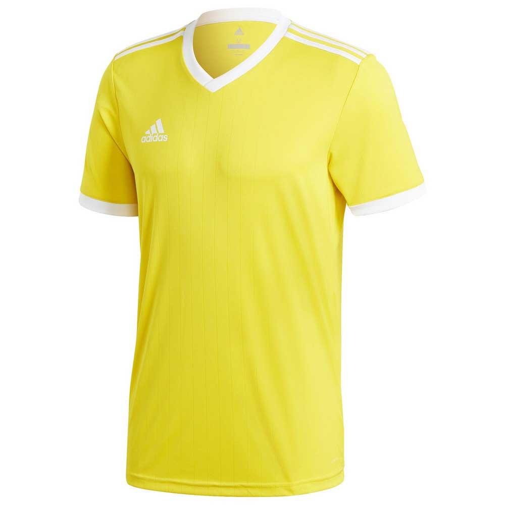 Adidas T-shirt Manche Courte Tabela 18 XXL Yellow / White