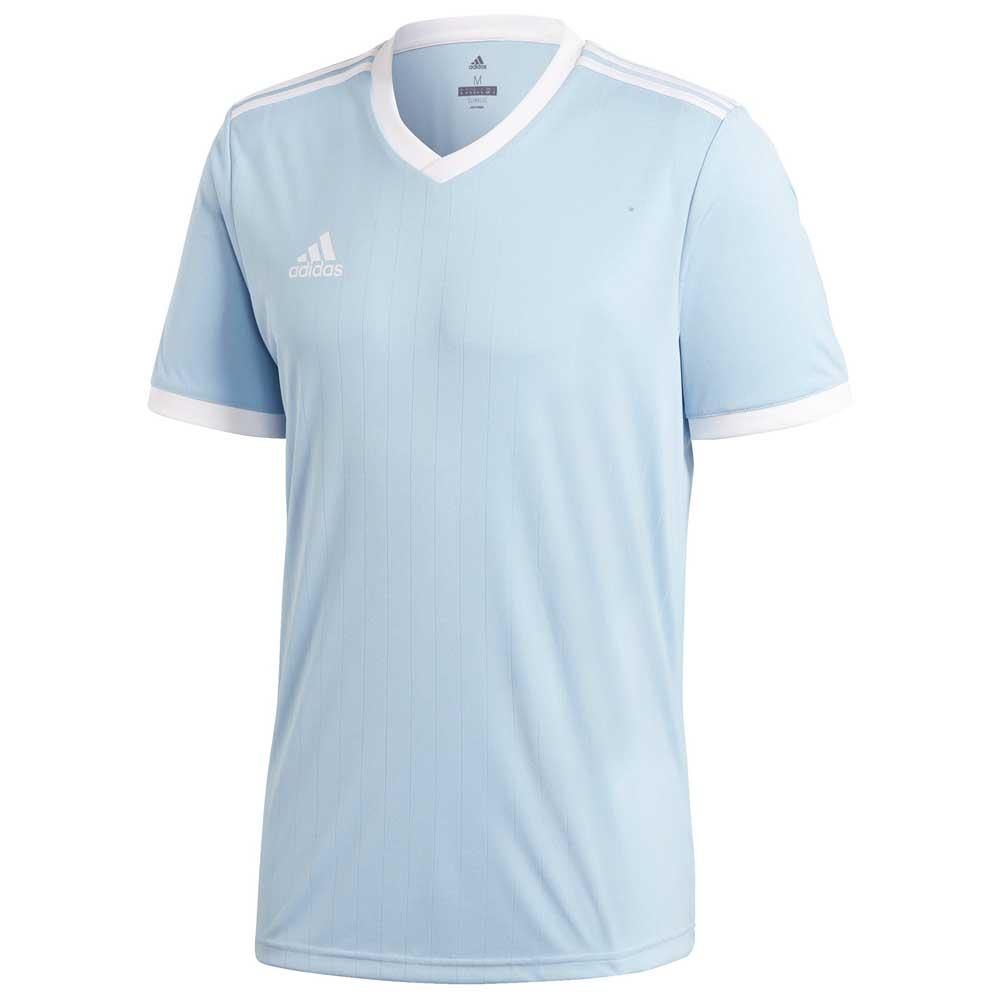 Adidas T-shirt Manche Courte Tabela 18 164 cm Clear Blue / White