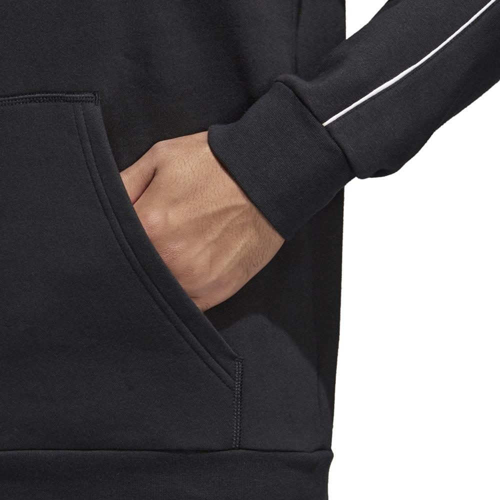 Adidas Core 18 Hoodie nero   bianca , , , Felpe adidas , calcio , Abbigliamento Uomo c591c4