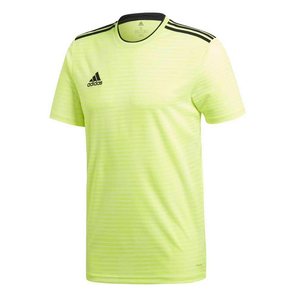 Adidas Condivo 18 Short Sleeve T-shirt XL Solar Yellow / Black