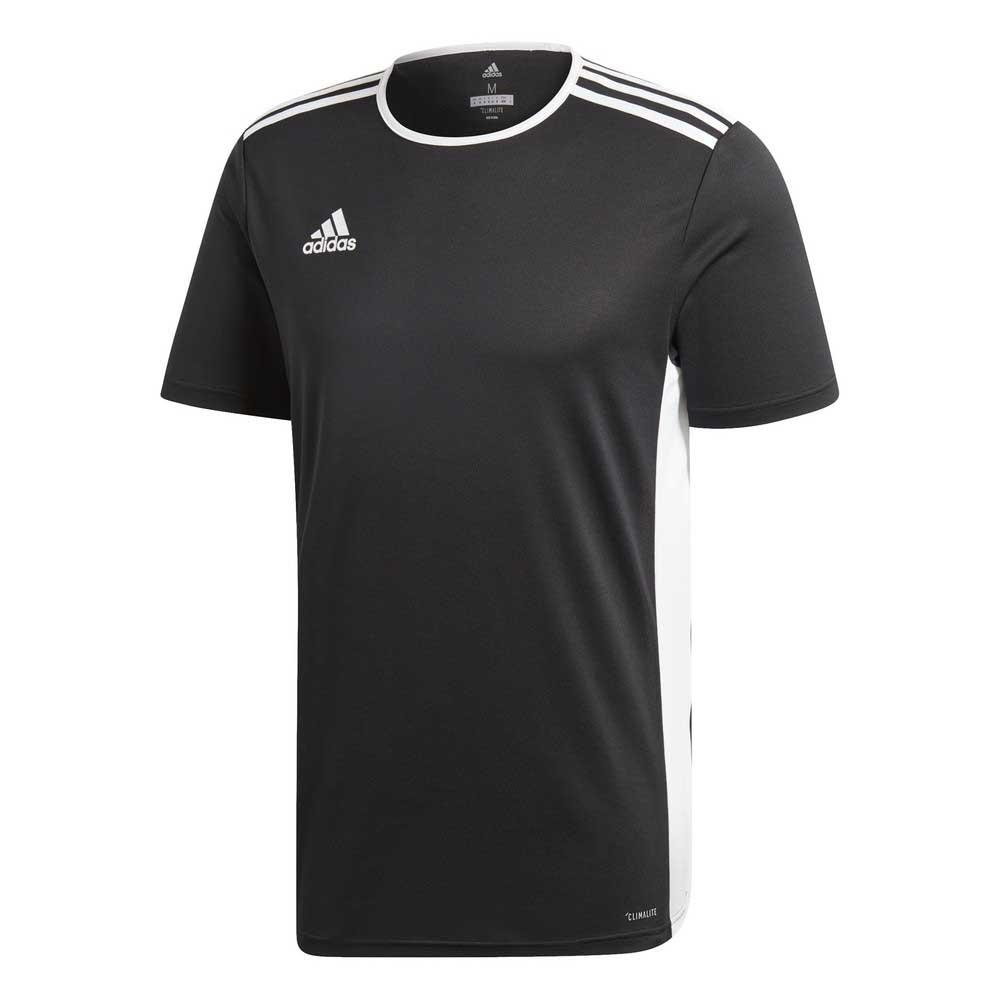 Adidas T-shirt Manche Courte Entrada 18 M Black / White