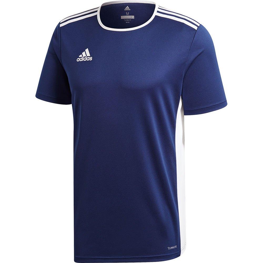 Adidas T-shirt Manche Courte Entrada 18 M Dark Blue / White