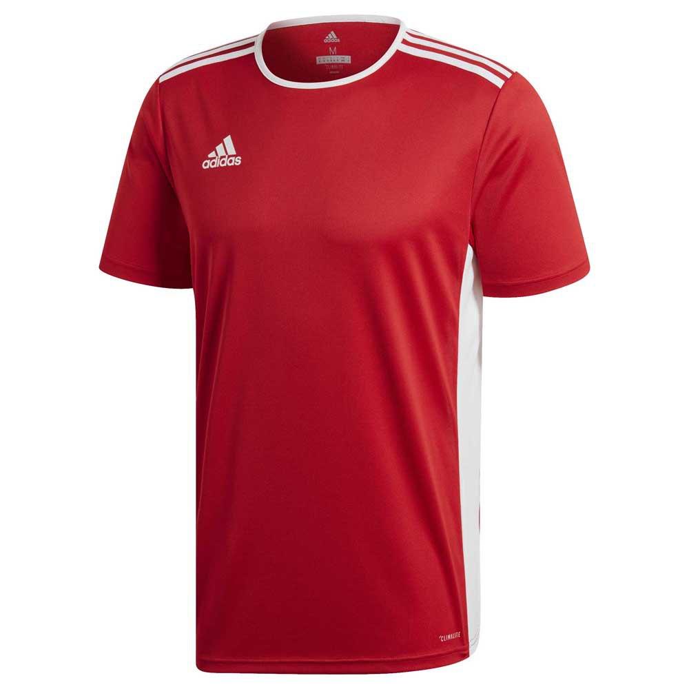 Adidas T-shirt Manche Courte Entrada 18 XXXL Power Red / White