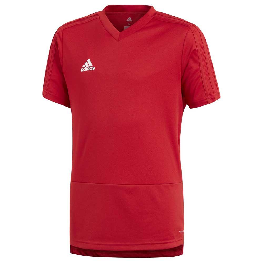 Adidas T-shirt Manche Courte Condivo 18 Training 164 cm Power Red / White