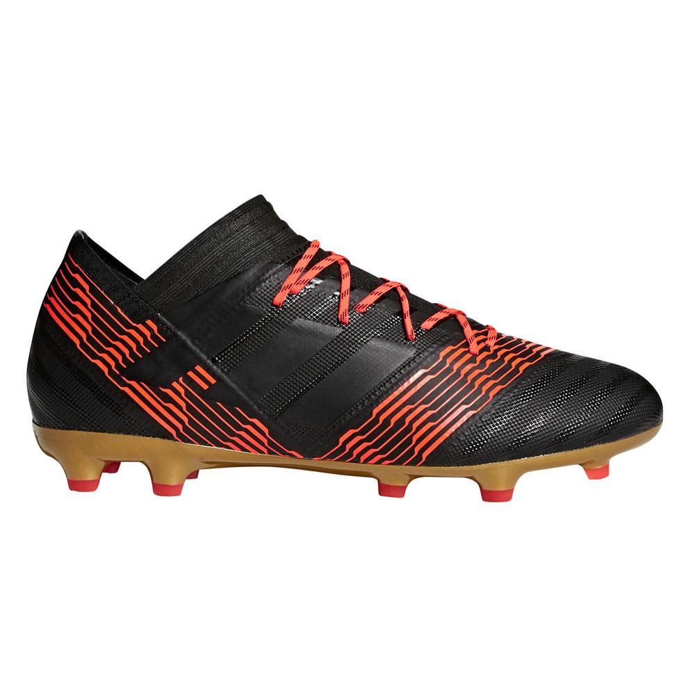 Adidas Chaussures Football Nemeziz 17.2 Fg EU 41 1/3 Core Black / Core Black / Solar Red