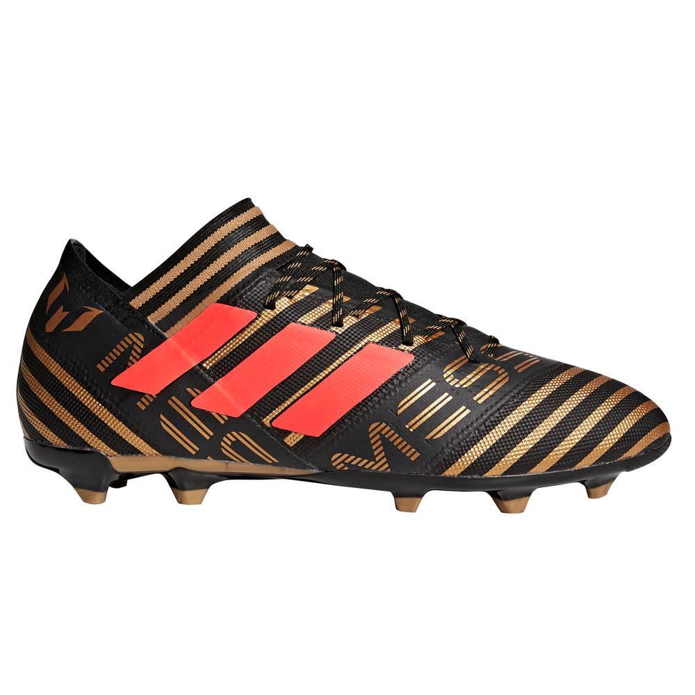 Adidas Nemeziz Messi 17.2 Fg EU 44 Core Black / Solar Red / Tactile Gold Metal