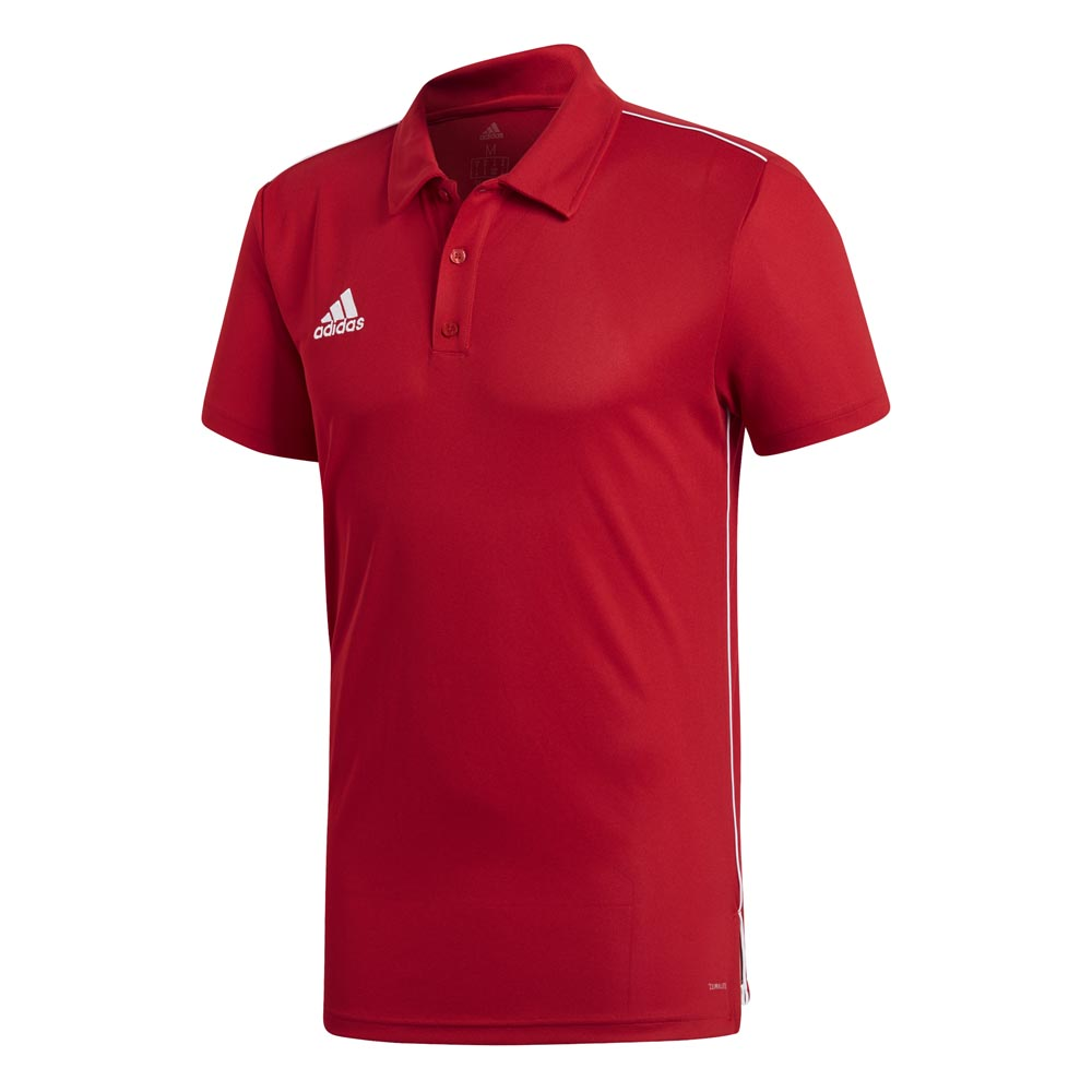Adidas Core 18 Climalite XL Power Red / White