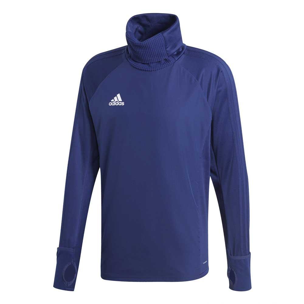 Détails sur Adidas Condivo 18 Warm Bleu T73893 Sweatshirts Homme Bleu , Sweatshirts adidas