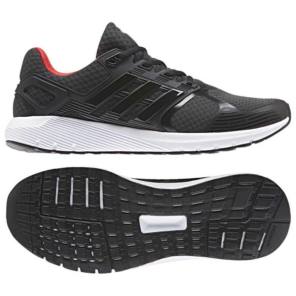 Adidas Duramo 8 Carbon   Core Black   Hi Res Red  9fa810fa0