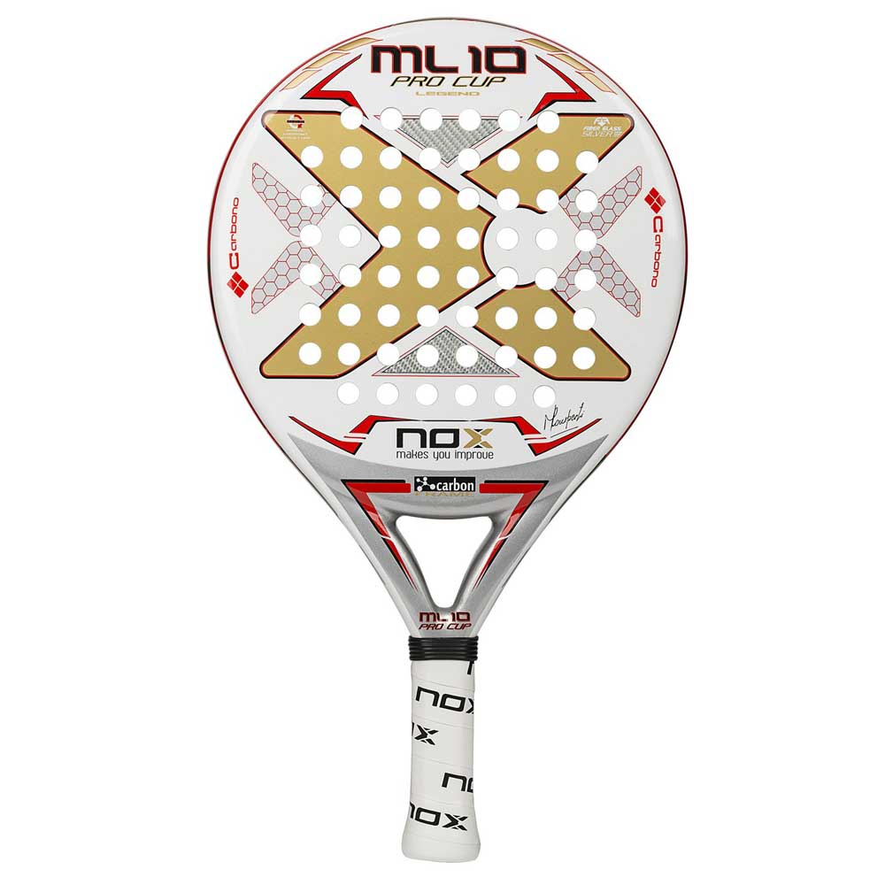 Nox Ml10 Pro Cup One Size White / Gold / Red