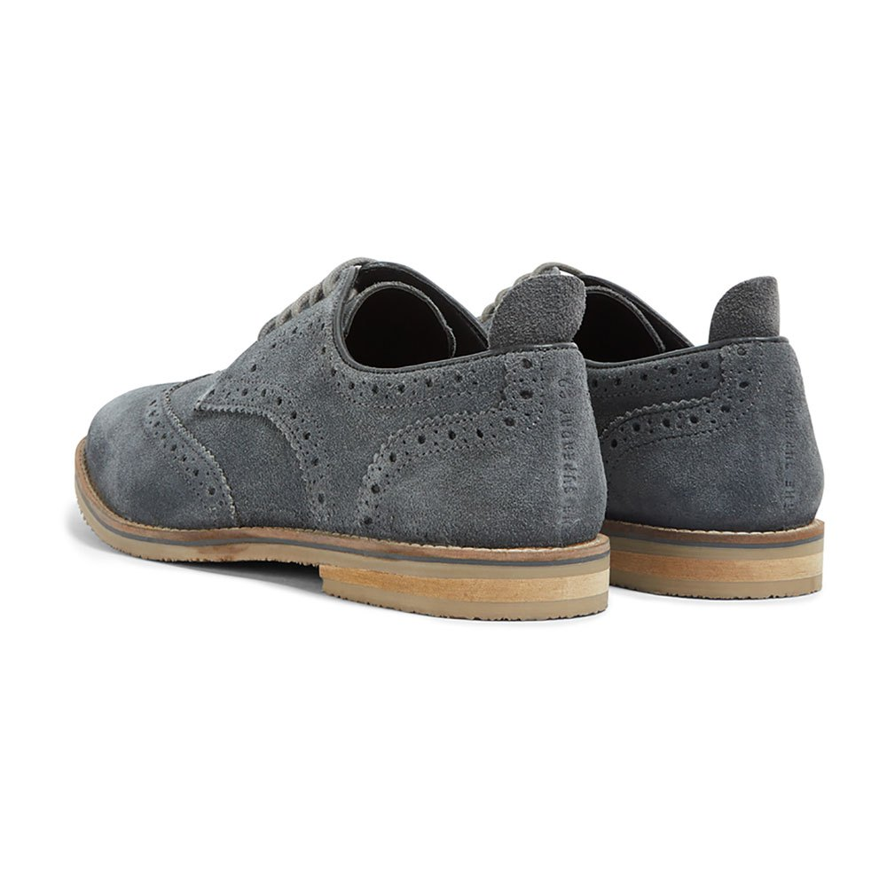 Superdry Ripley Brogue Grey Dark Grey Brogue , Scarpe Classiche Superdry , moda 78fb09