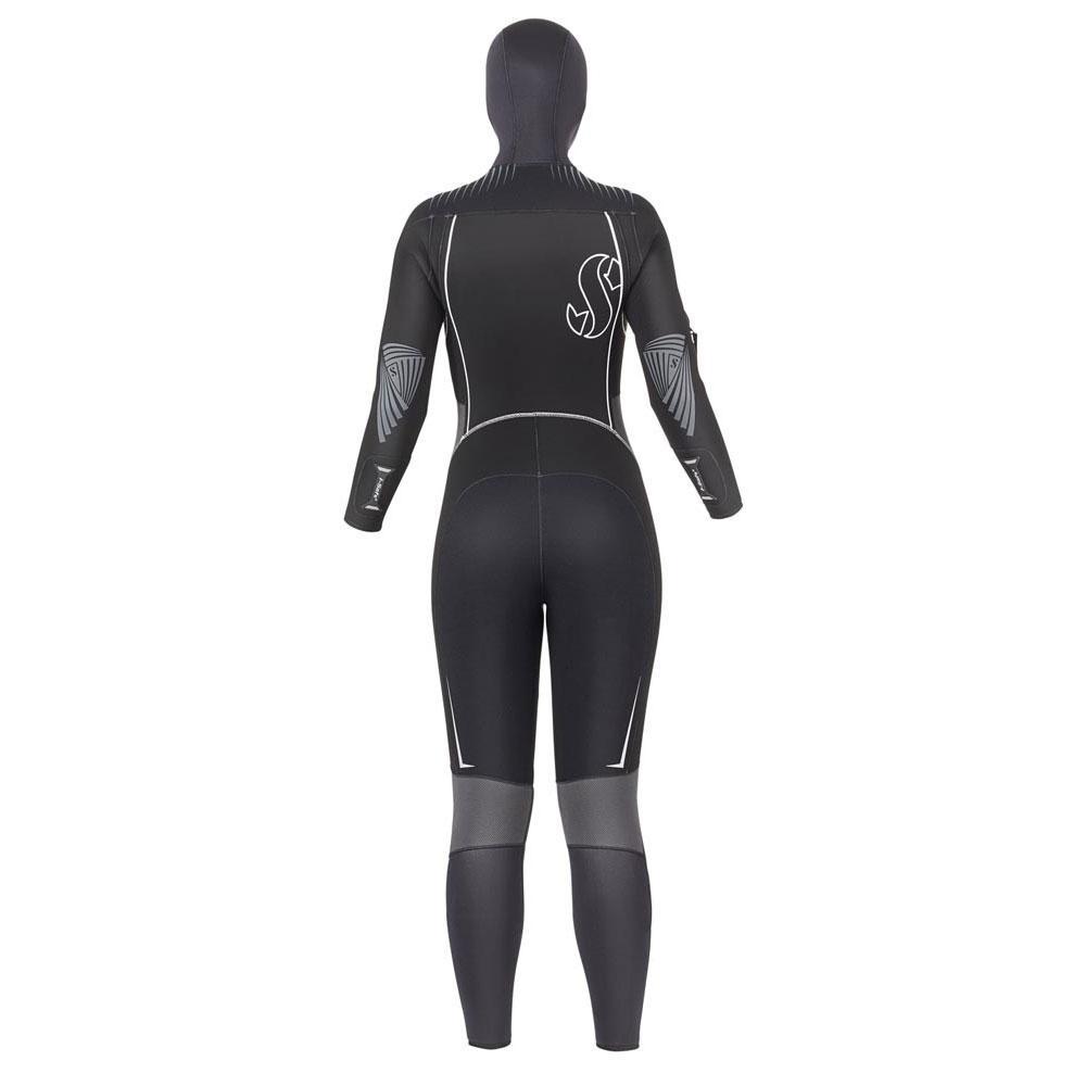 scubapro-definition-7-mm-front-zip-hood-woman-l-black
