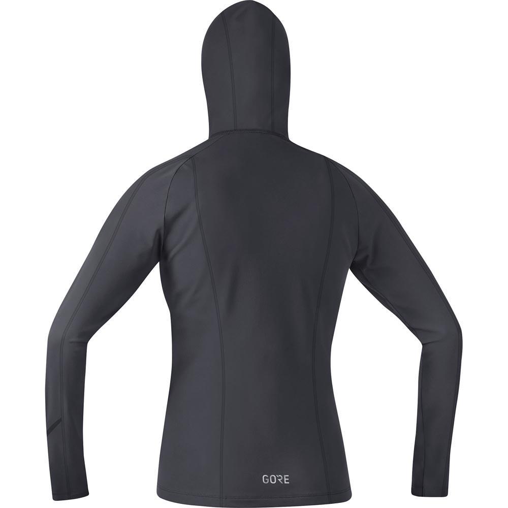 Gore® Wear R3 Hoodie Terra grigio     nero , Pullover GORE® Wear , corsa 3d1989