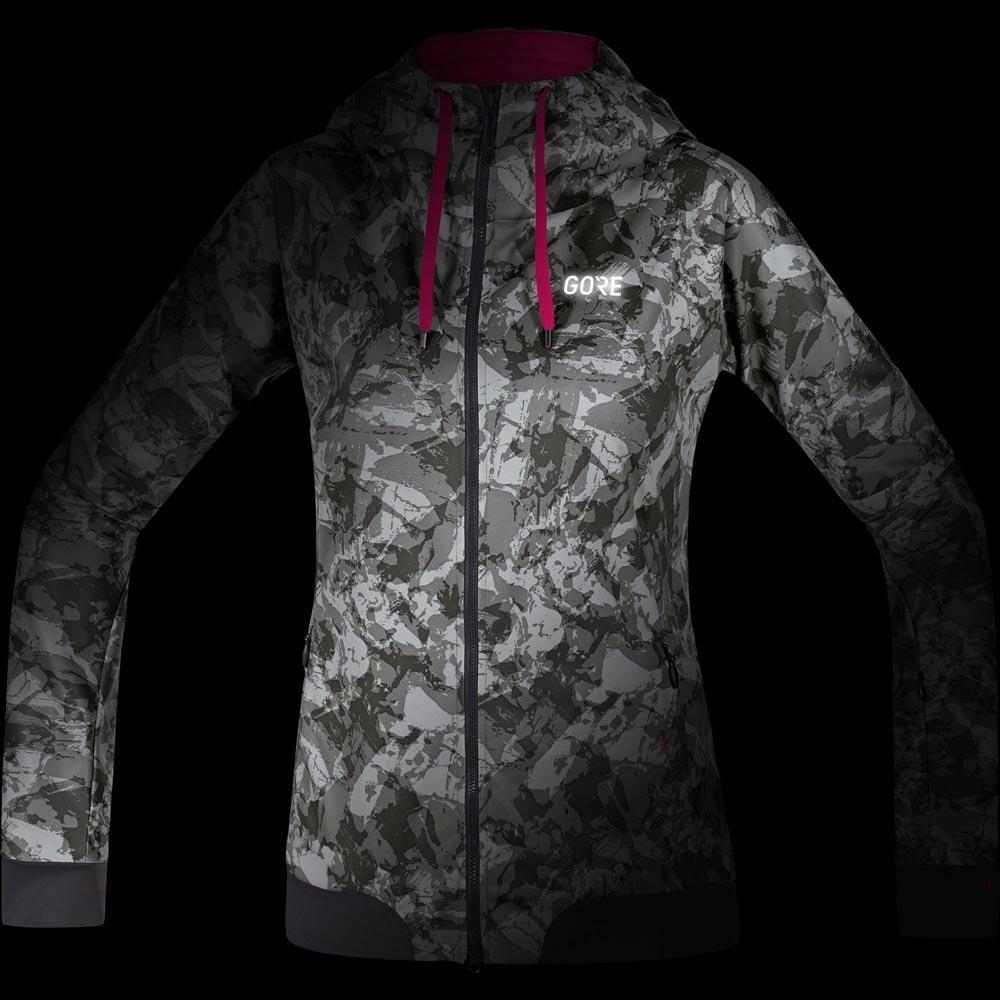 Gore® Wear C5 Windstopper Trail Camo Hooded Jacket Terra Terra Terra grigio Camo , Giacche 6d36d0