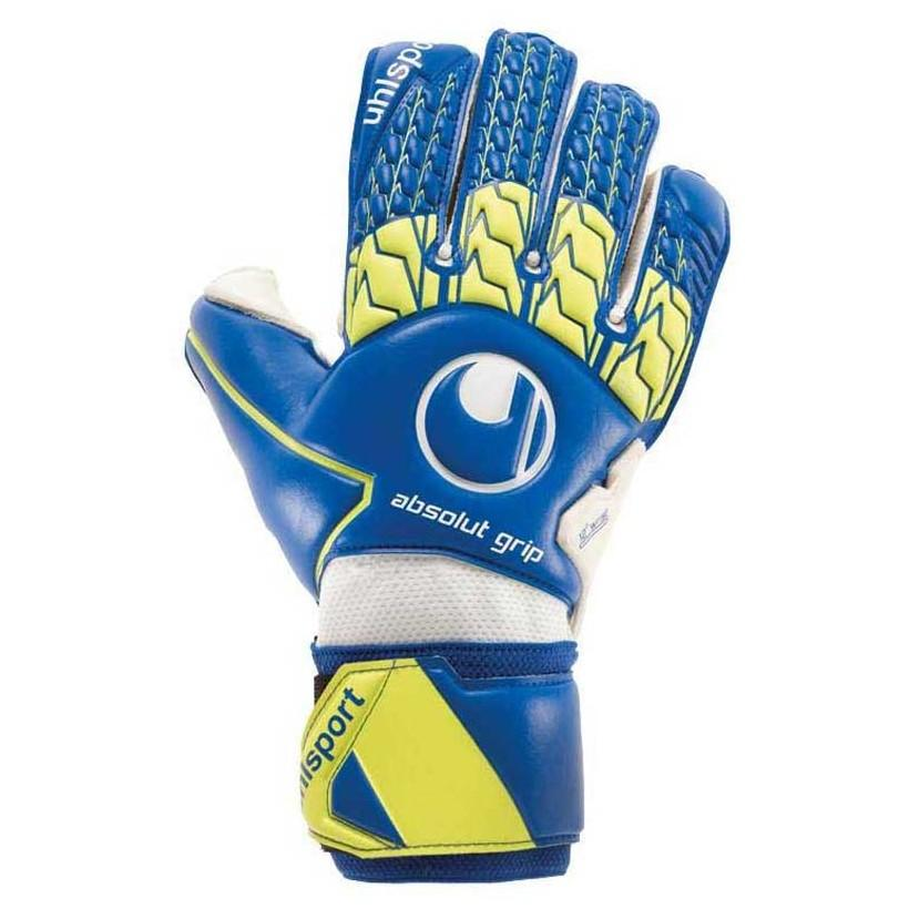 Uhlsport Absolutgrip 11 Navy / Fluo Yellow / White
