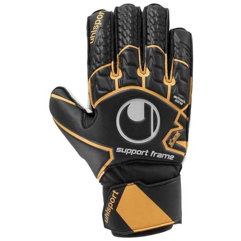 Uhlsport Soft Resist Sf 5 Black / Fluo Orange / White