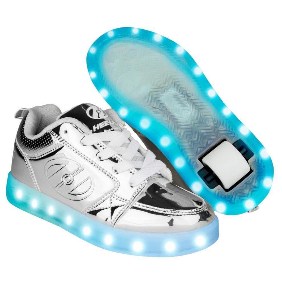 Heelys Premium 1 Lo EU 34 Silver Chrome