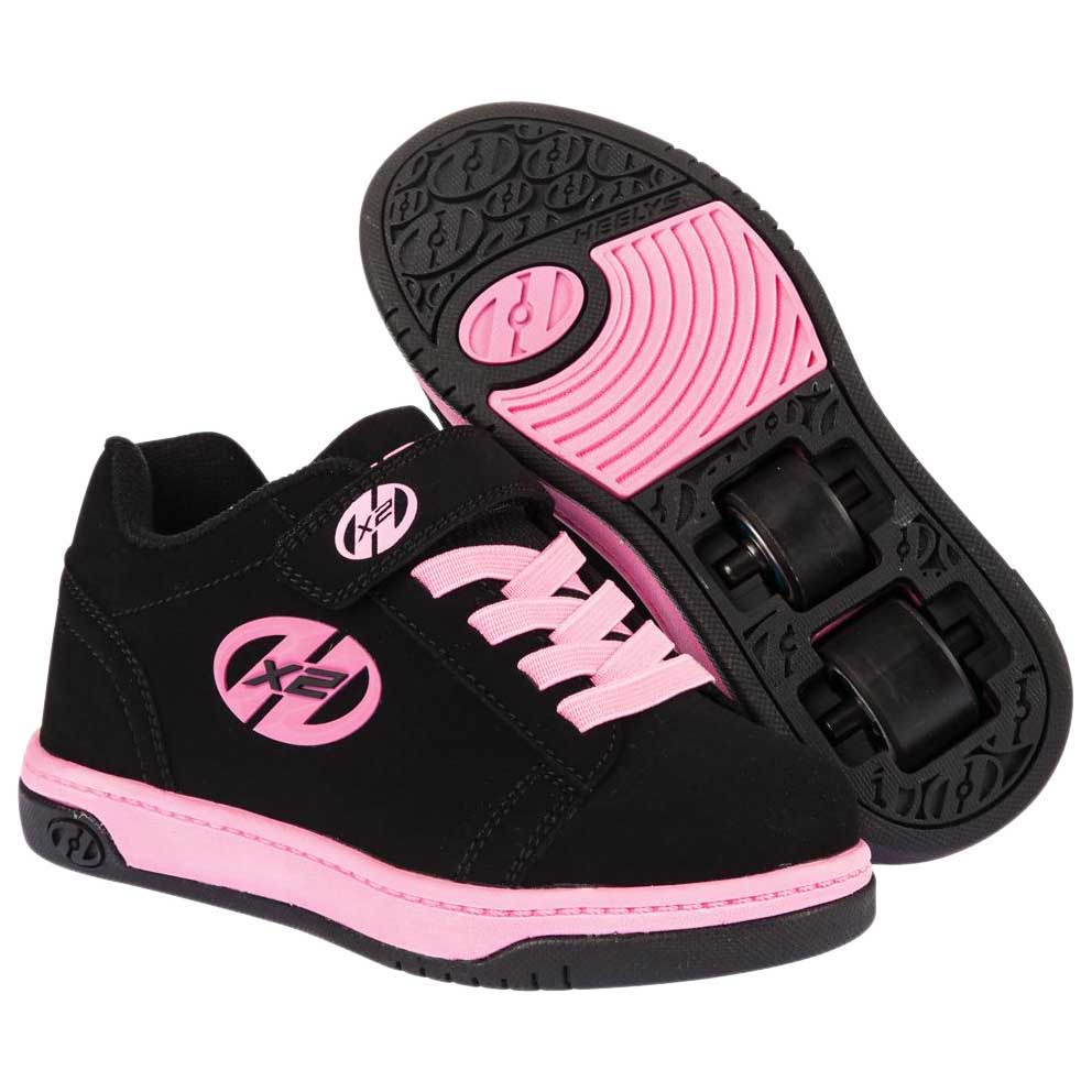 Heelys X2 Dual Up EU 30 Black / Pink