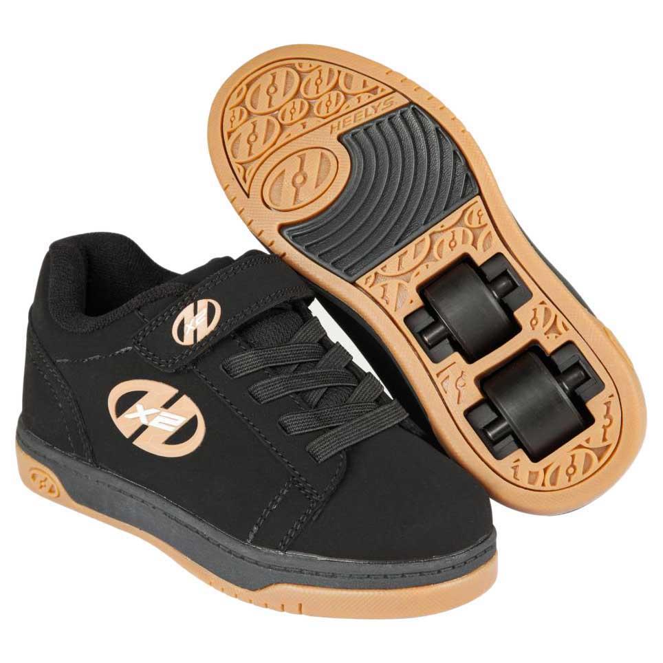 Heelys X2 Dual Up EU 33 Black / Gum