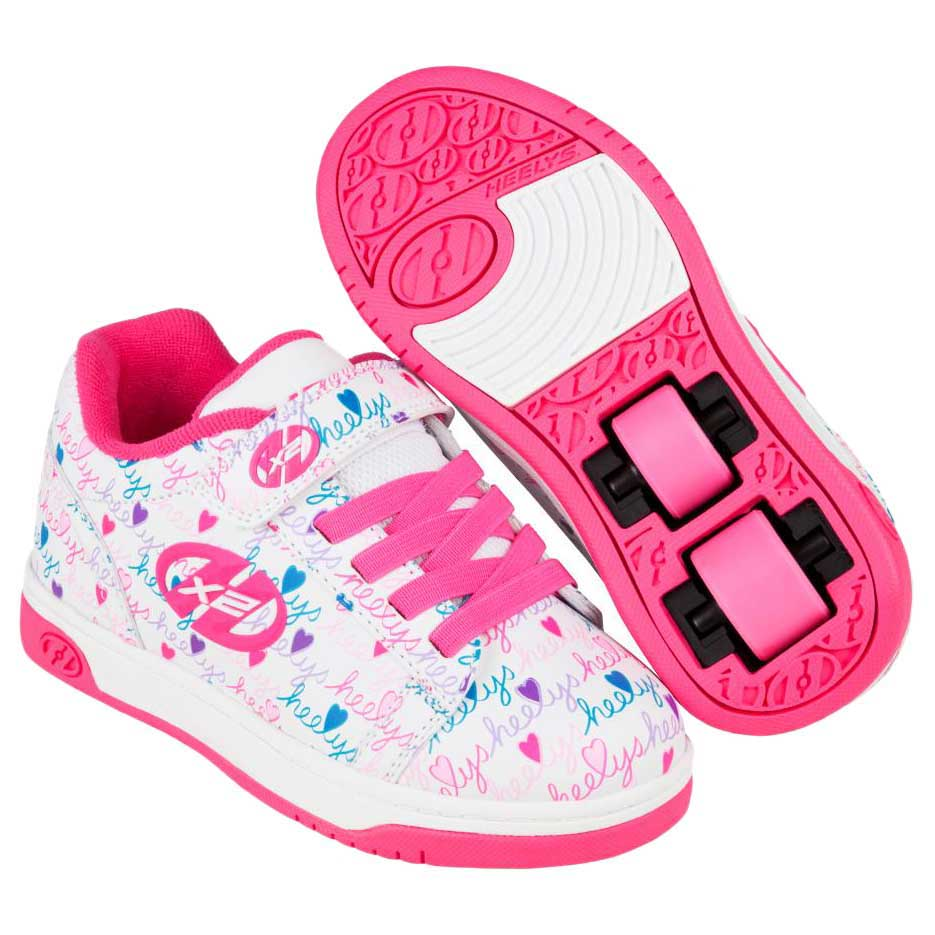 Heelys X2 Dual Up EU 33 White / Pink / Multi