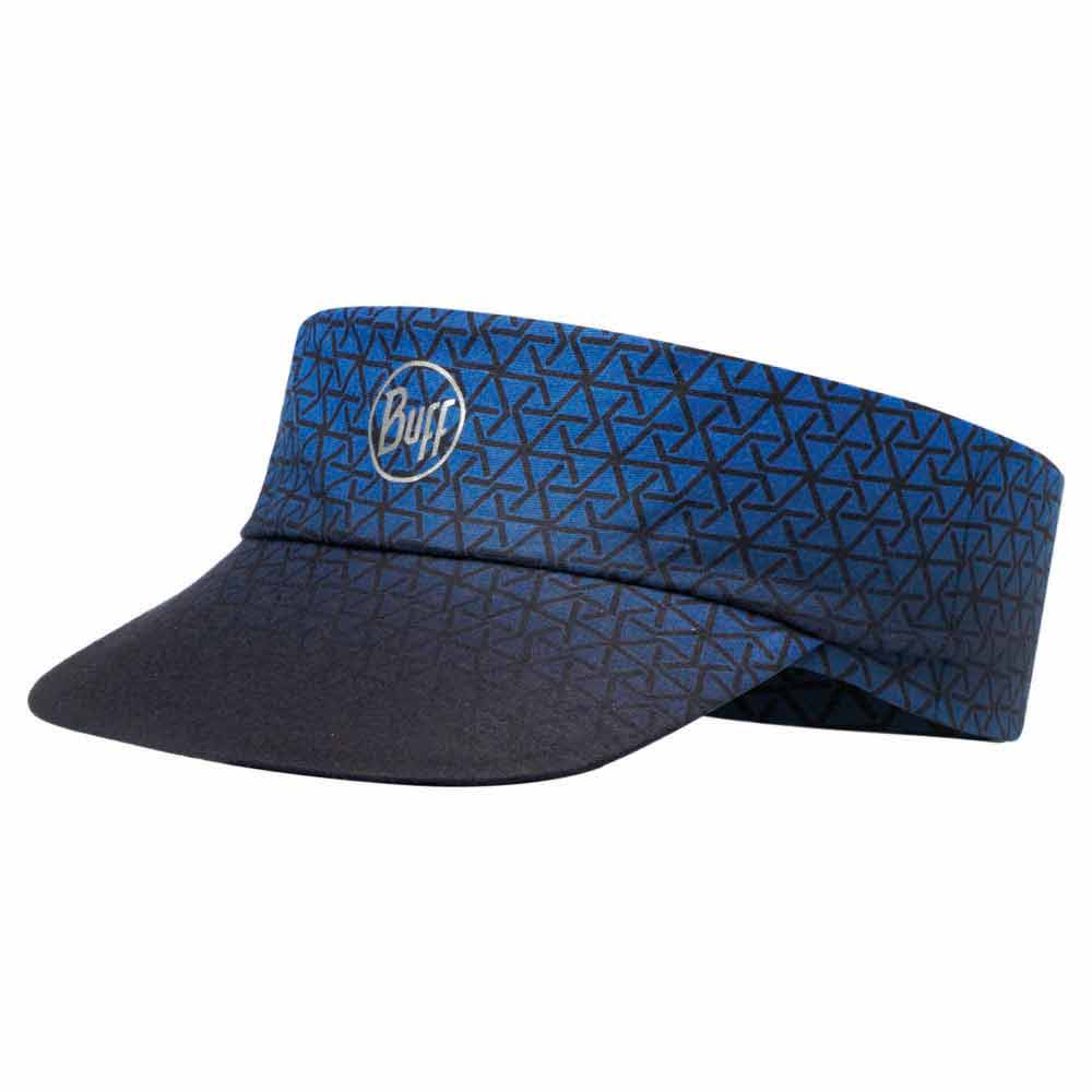 Buff ® Pack Run Visor One Size R-Equilateral Cape Blue