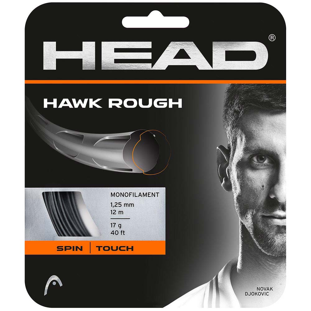 Head Racket Hawk Rough 12 M 1.25 mm Anthracite