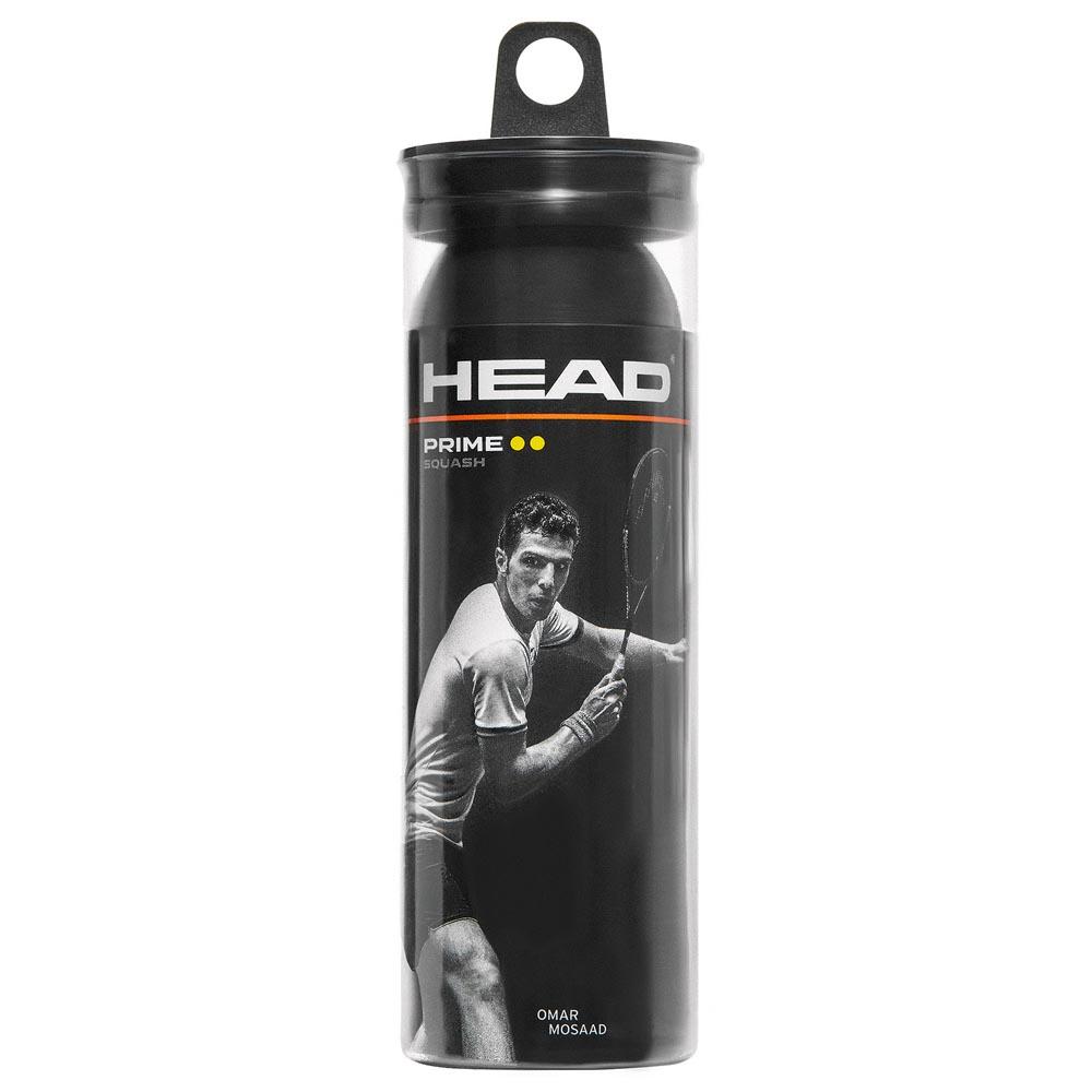 Head Racket Prime Dyd Squash Balls 3 Balls Black