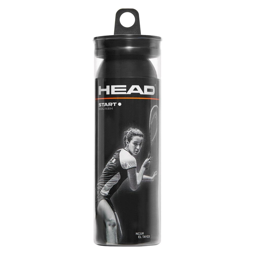 Head Racket Start Swd 3 Balls Black