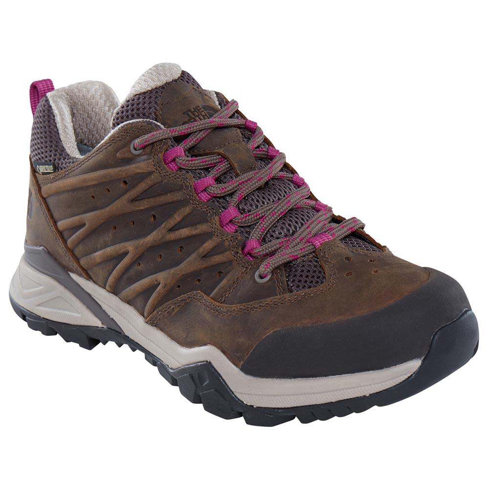 The North Face Hedgehog Hike Ii Goretex Hiking Shoes EU 36 1/2 Bone Brown / Wild Aster Purple