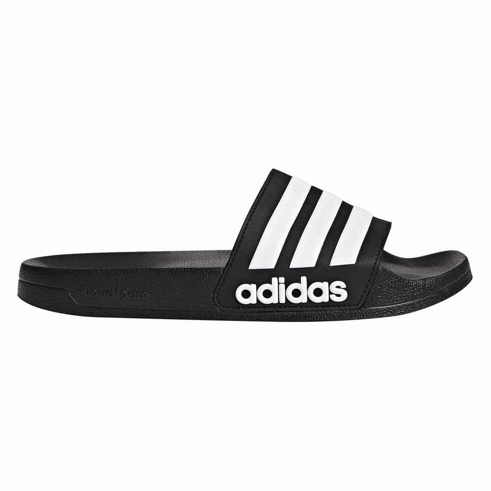 dd4fc7e6db78 adidas Adilette Flip Flop Sandals Core Black running White core ...