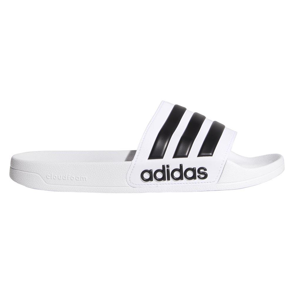 Adidas Core Adilette Shower EU 39 1/3 Ftwr White / Core Black / Ftwr White