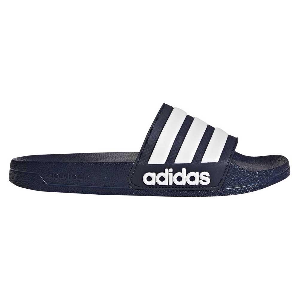 Adidas Core Cf Adilette EU 39 1/3 Collegiate Navy / Ftwr White / Collegiate Navy