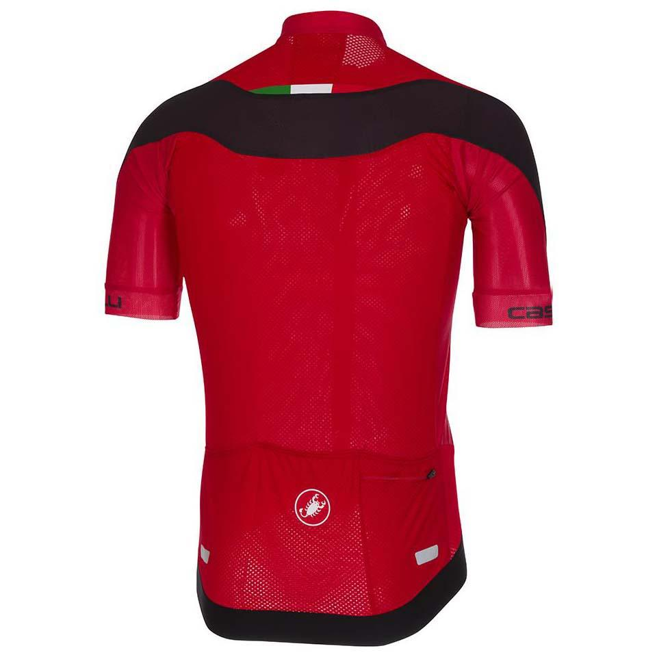 Castelli Zip Red 2 Maglie Black Volata Ciclismo Full ZrItrq