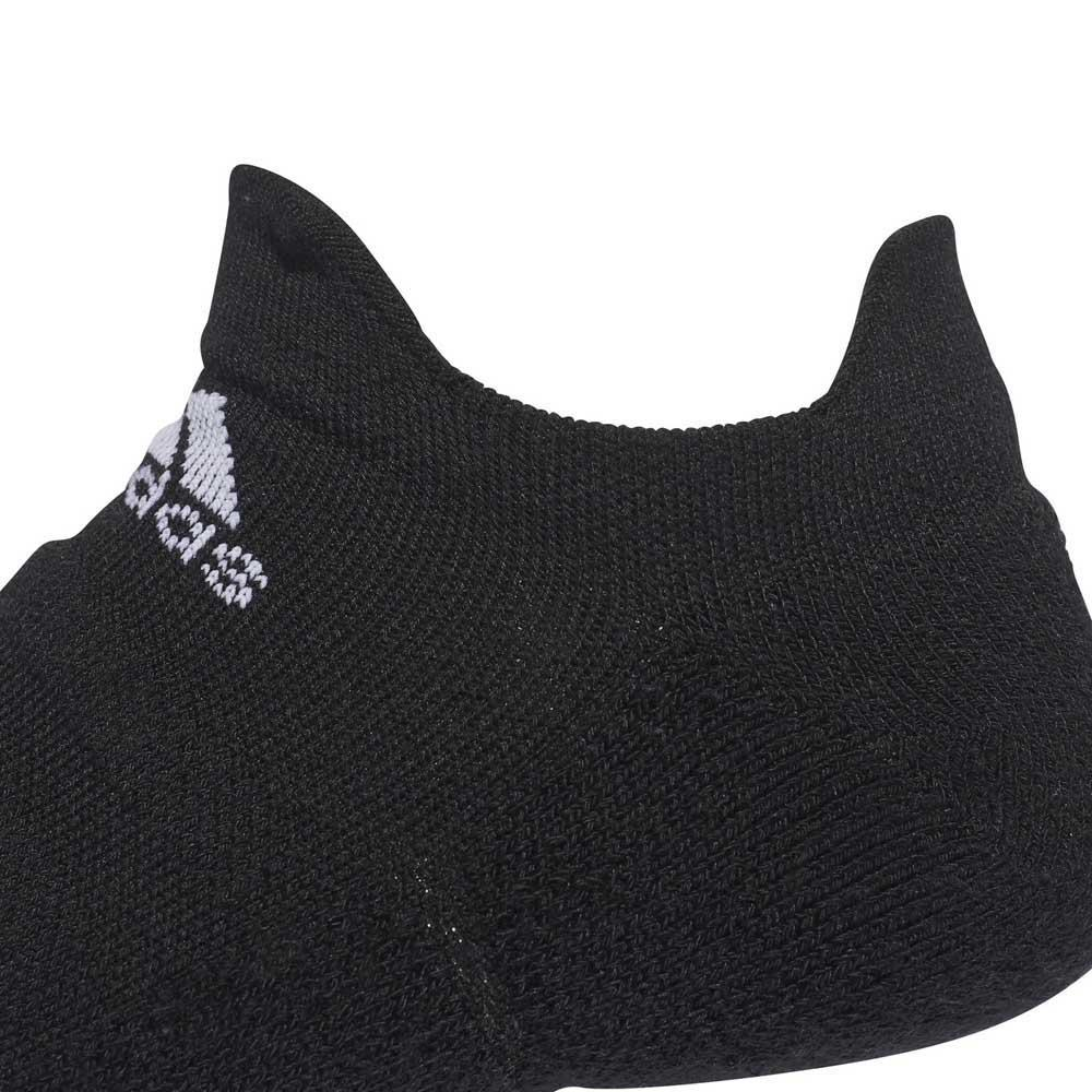 Adidas Alphaskin Lightweight Cushioning No Show Noir / , Blanc , / Chaussettes 0ac622
