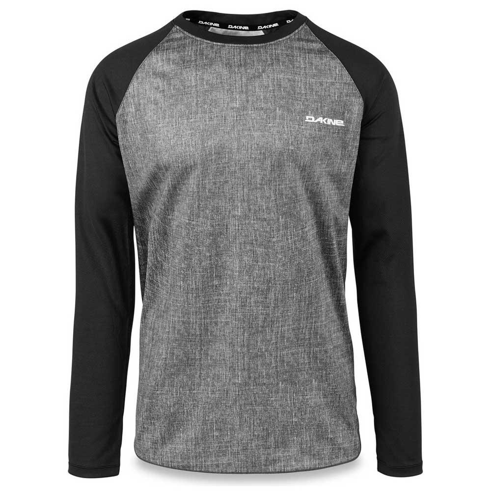 Dakine Dropout L/s Carbon / Black , T-Shirts cyclisme Dakine , cyclisme T-Shirts , VêteHommes ts Homme 9a5cc9