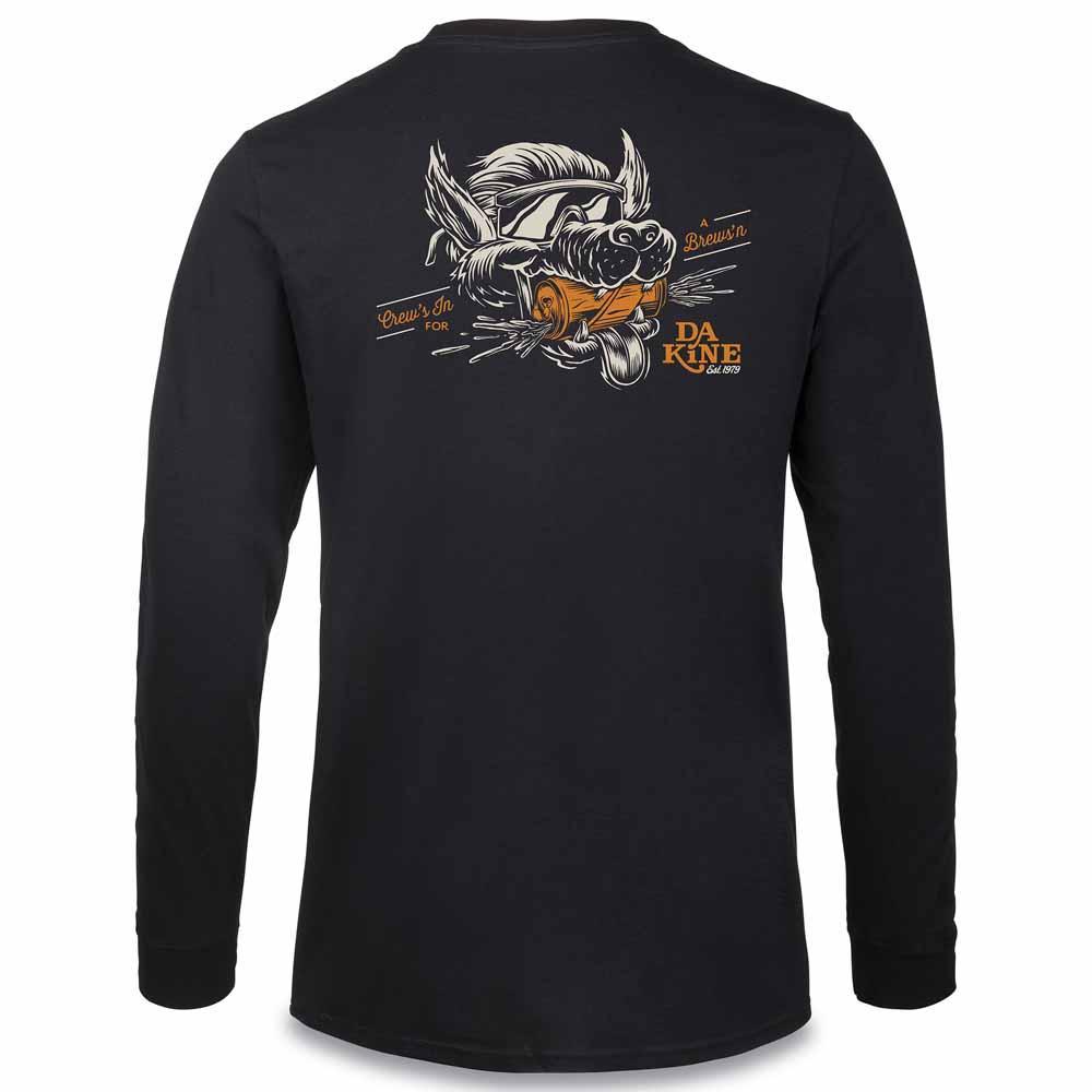 Dakine-Crews-In-L-s-Negro-Camisetas-Dakine-deportes-Ropa-hombre