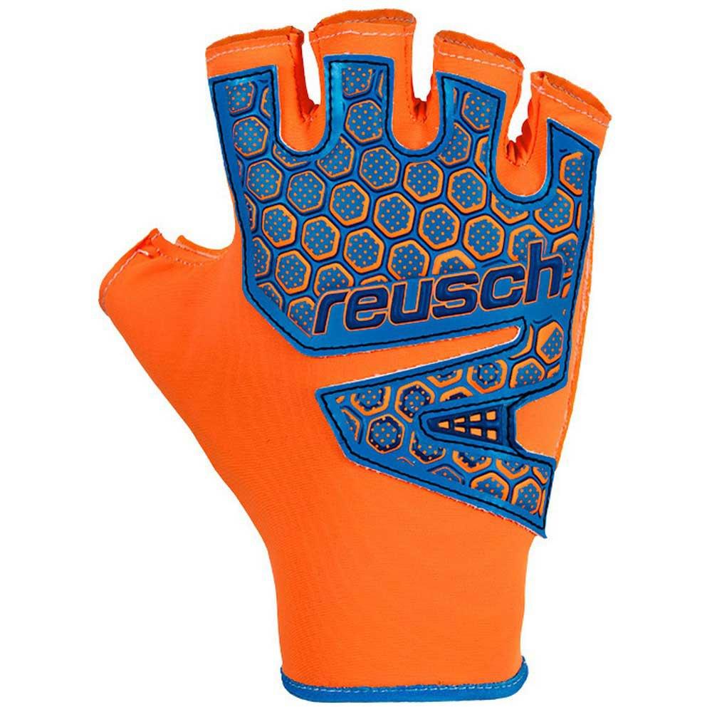 Reusch Gants Gardien Futsal Sg Sfx 7 Shocking Orange / Blue