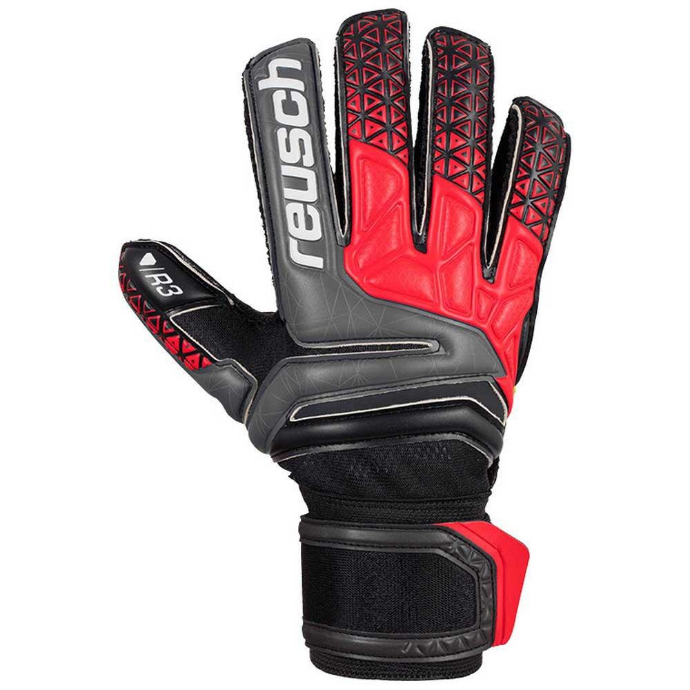 Reusch Prisma Prime R3 Finger Support 8 Black / Fire Red