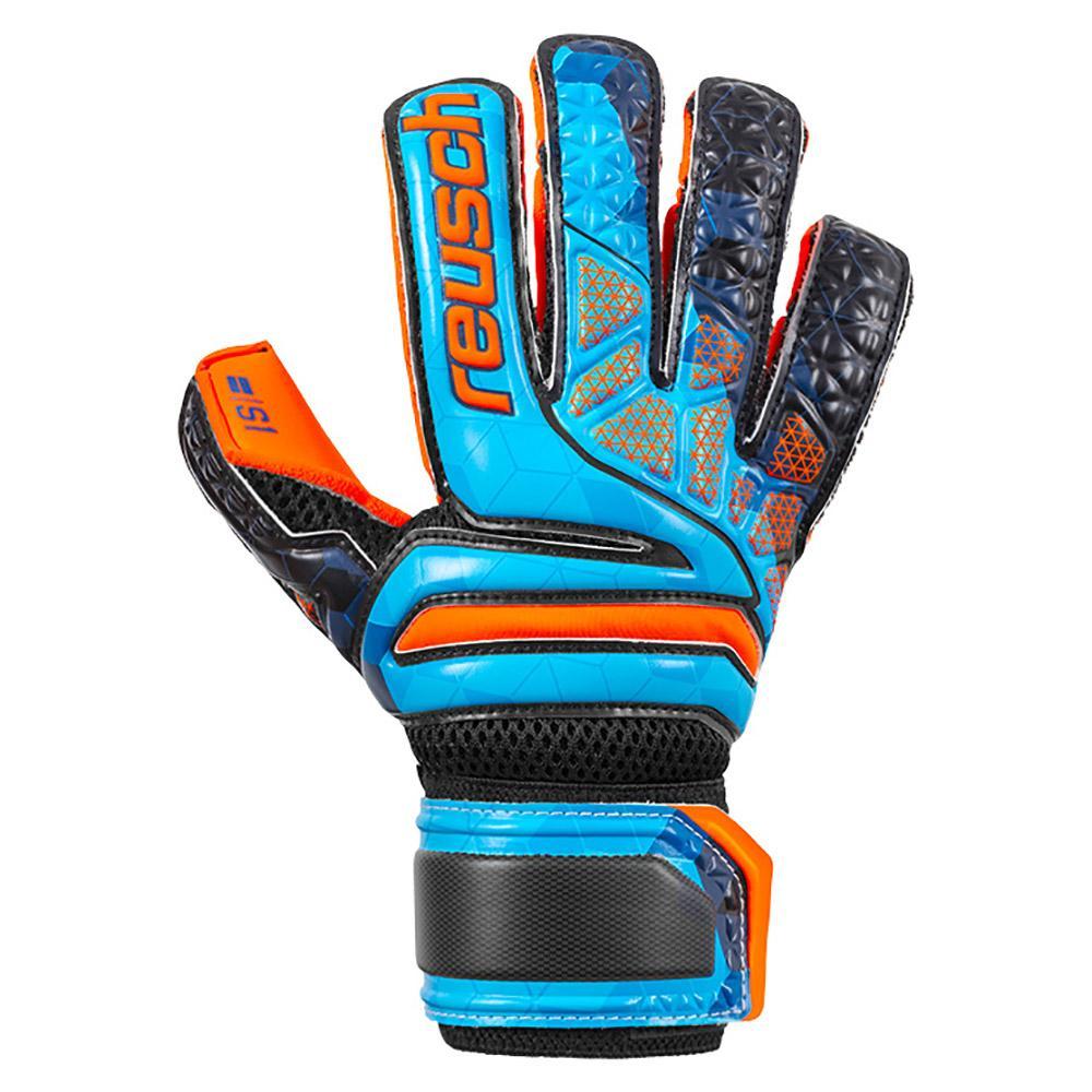 Reusch Prisma S1 Evolution Ltd Junior 4 Blue / Black / Shocking Orange