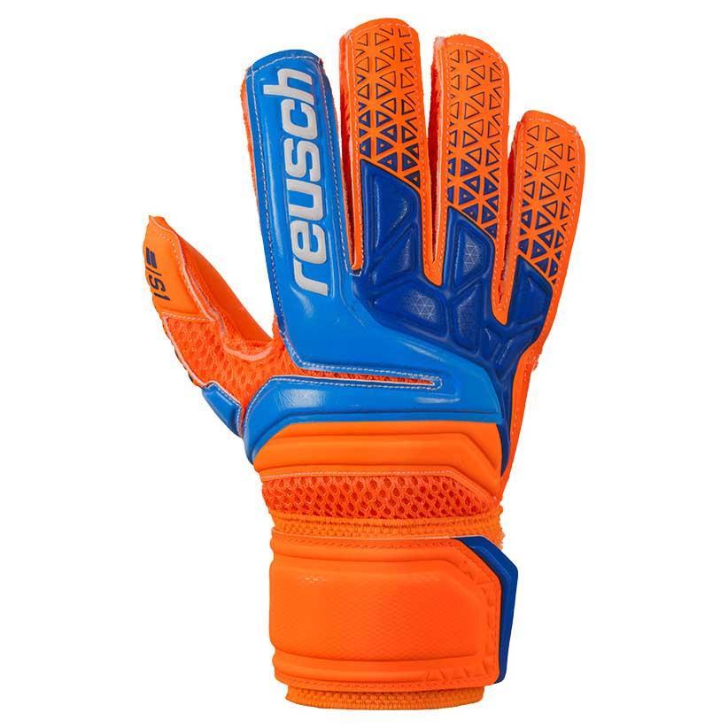 Reusch Prisma S1 Junior 3 1/2 Shocking Orange / Blue