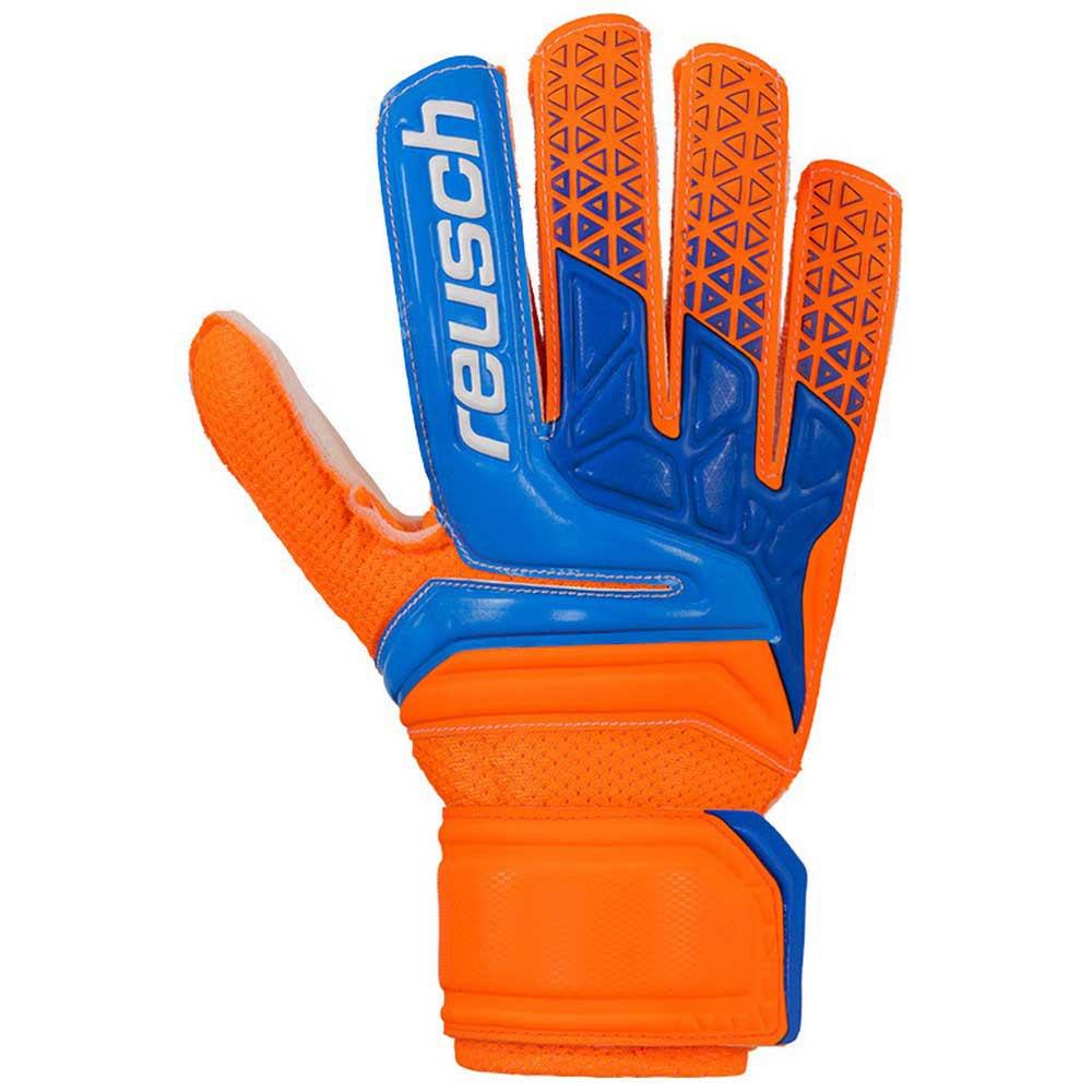 Reusch Prisma Sd Easy Fit Junior 3 1/2 Shocking Orange / Blue