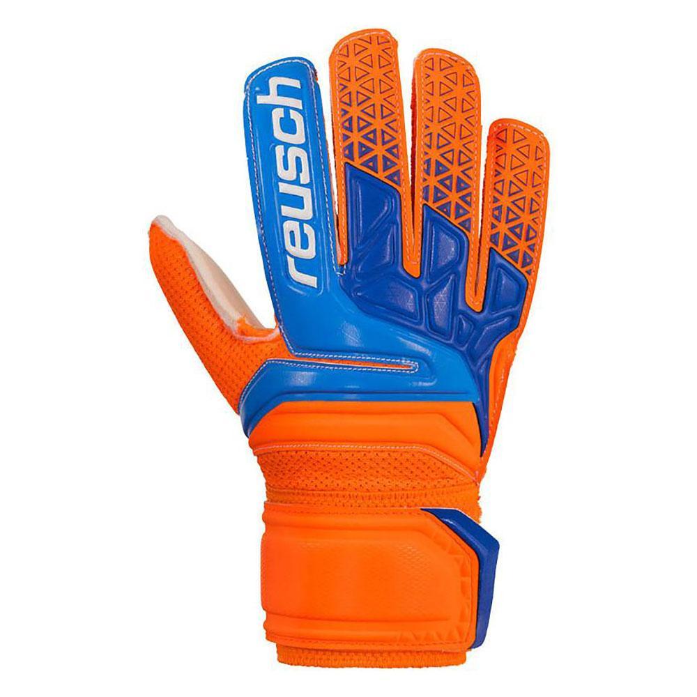 Reusch Gants Gardien Prisma Sg Junior 4 Shocking Orange / Blue