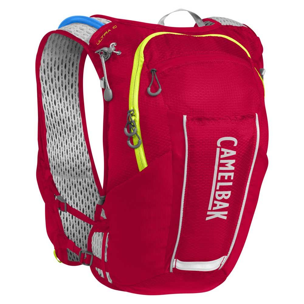 Camelbak Ultra Vest 10l One Size Crimson Red / Lime Punch