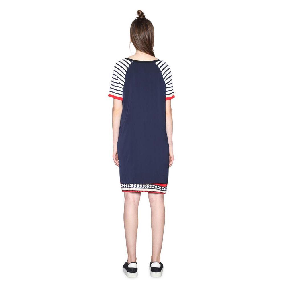 Desigual Evocative Navy , Vestiti Desigual Desigual Desigual , moda , Abbigliamento donna cc375d