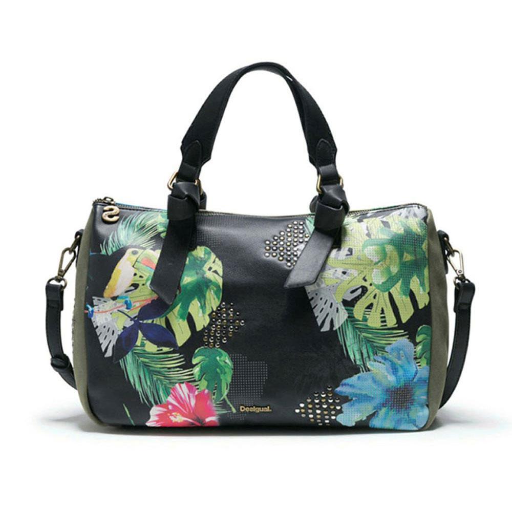 Kaki Hand Lilac Bag Ginebra Desigual Bolso fgy6b7