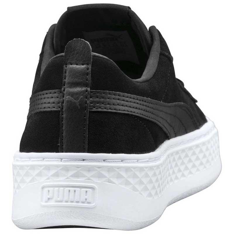 Puma-Smash-Platform-Sd-Nero-Scarpe-sportive-Puma- 6d9e8f0b594