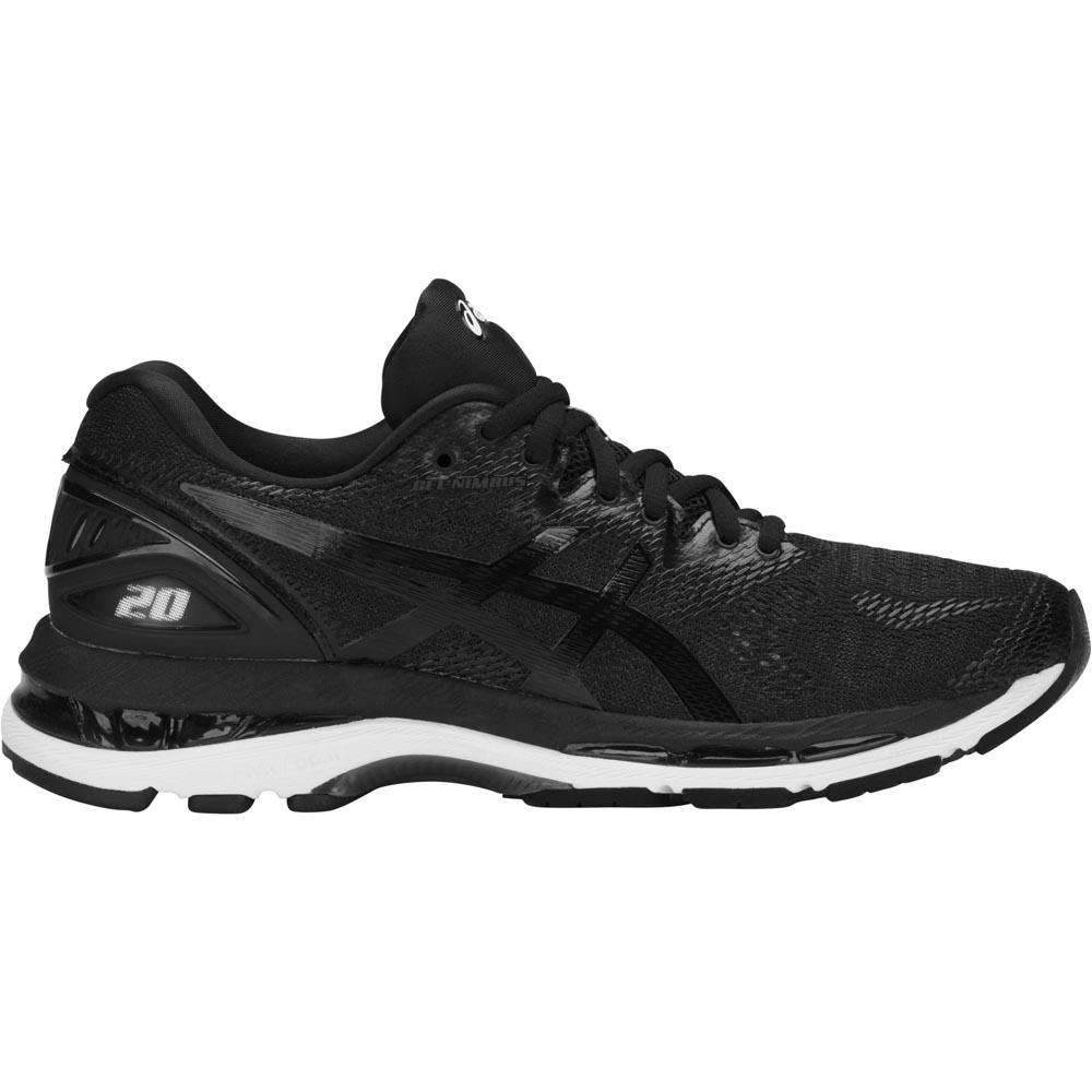 Asics Gel Nimbus 20 EU 36 Black / White / Carbon