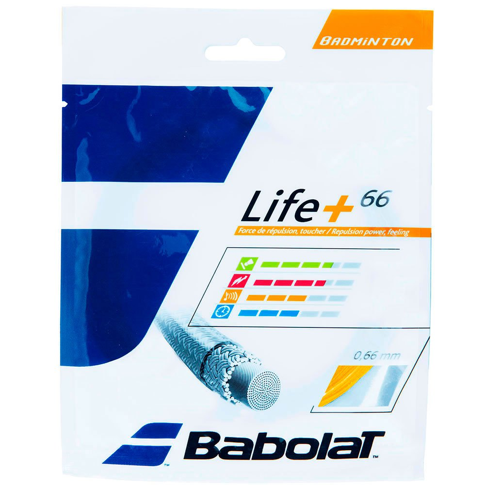 Babolat Life+ 66 10.2 M 0.66 mm Yellow