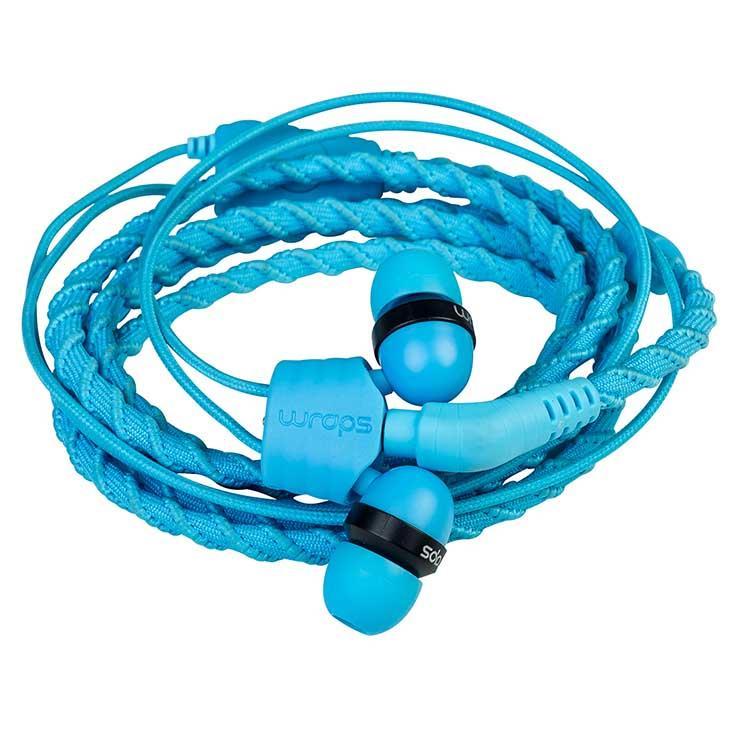 Wraps Classic Earphones One Size Blue